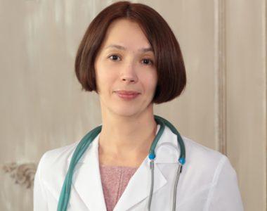 Педиатр Жолобова Ольга Леонидовна